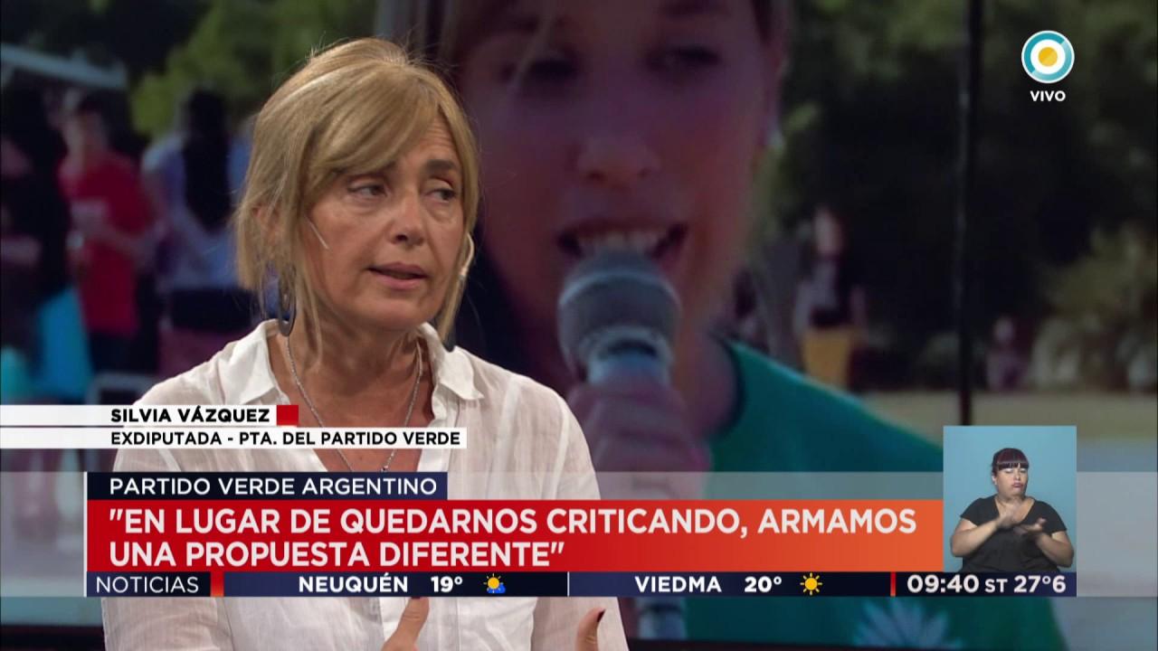 TV Pública Noticias - El nuevo Partido Verde Argentino: Silvia Vázquez