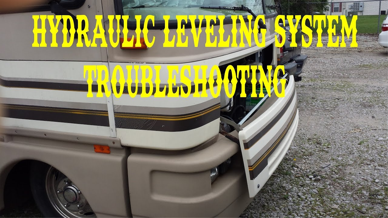 hydraulic jacks leveling system troubleshooting fleetwood bounder