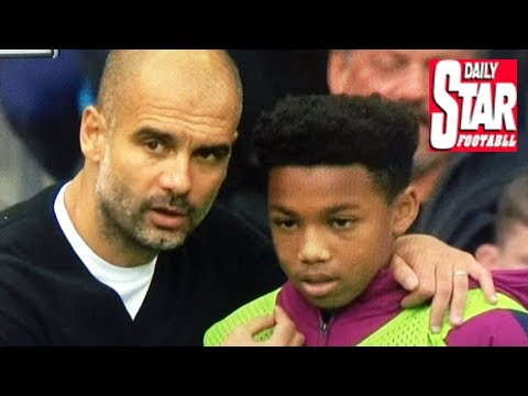 Pep guardiola's 'tactical' conversation with ball boy revealed