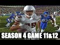 NCAA FOOTBALL 06 DYNASTY MODE - FIRST TOUCH TOUCHDOWN - S4G11&12