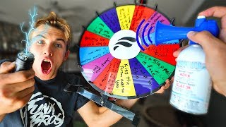 SPIN THE WHEEL = RANDOM DARE!