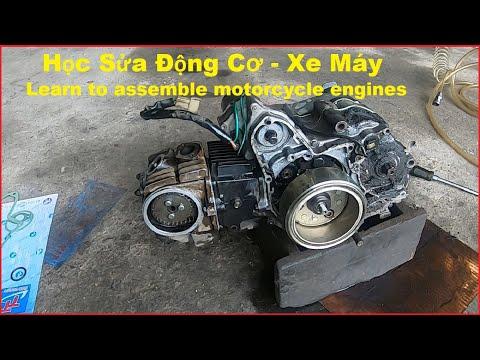 Học Làm Máy Xe Honda | Learn to Make Honda Motorcycles Xe