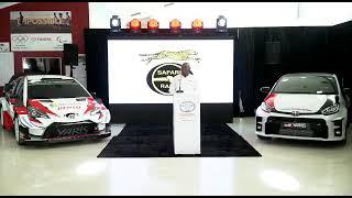 Toyota Kenya YARIS launch  & WRC sponsorship