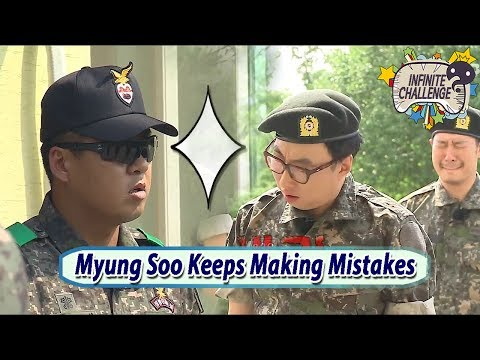 [Infinite Challenge Cover 'Real Men'] Park Myung Soo Keeps Making Mistakes 20170701