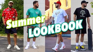 SUMMER LOOKBOOK - How To Style Sneakers In The Summer