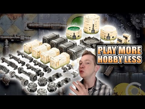 60 Piece Pre-Painted Chem Zone Terrain & Mats Game Mat.EU from YouTube · Duration:  10 minutes 38 seconds