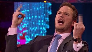 chris pratt used to chant what every morning the graham norton show