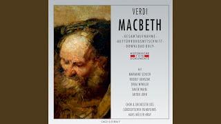 Macbeth, vierter Akt: Dieser Fleck hier