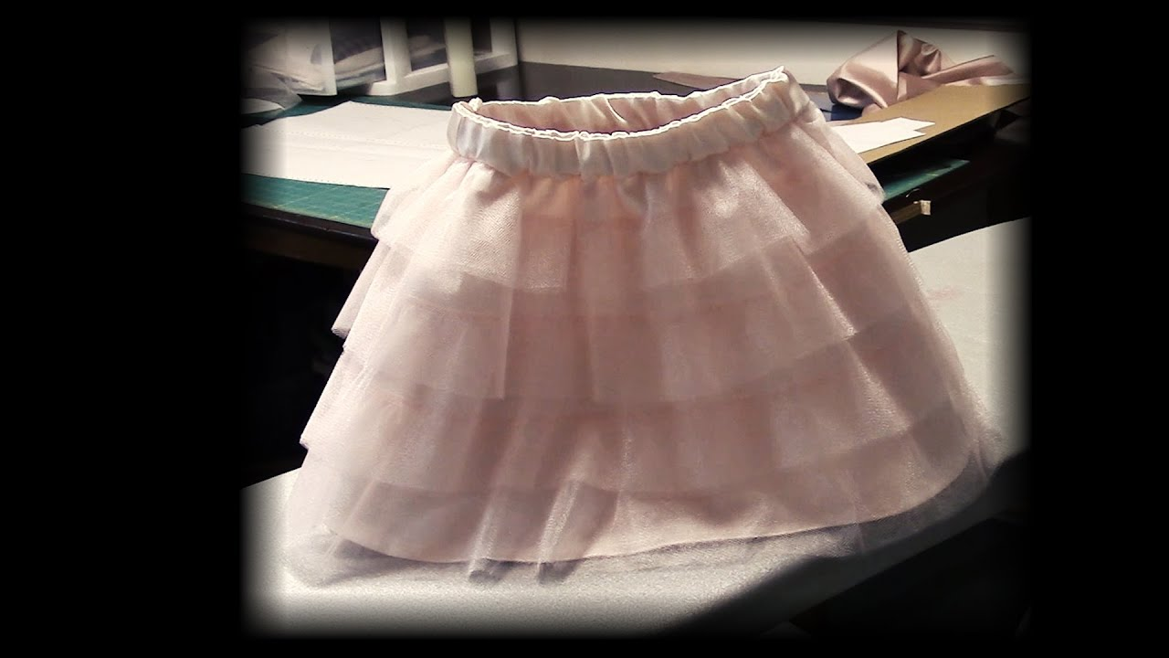35a92b615 Layered Tulle Skirt - YouTube