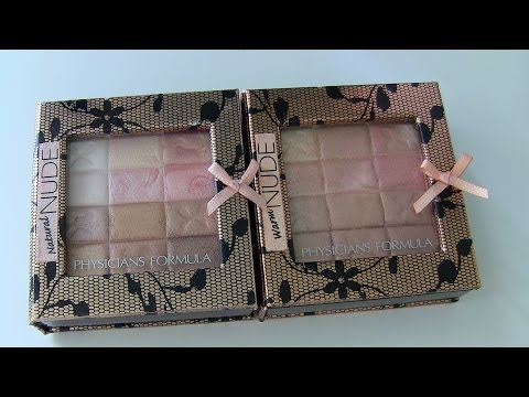 Physicians Formula Custom Nude Palettes Review!