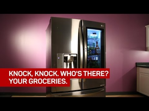 Knock On Lg S Instaview Fridge And It Ll Show You Your