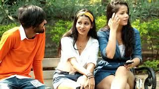 Hug And Kiss With Twist Prank||Raju bharti||Bharti Prank||
