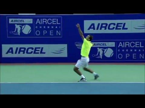 Ante Pavic Vs Nicolas Almagro ATP Chennai 2016 Full Highlights