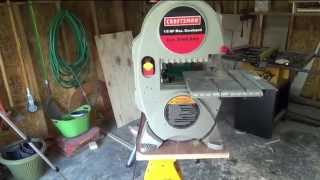 Portable Workbench For Drill Press And Band Saw