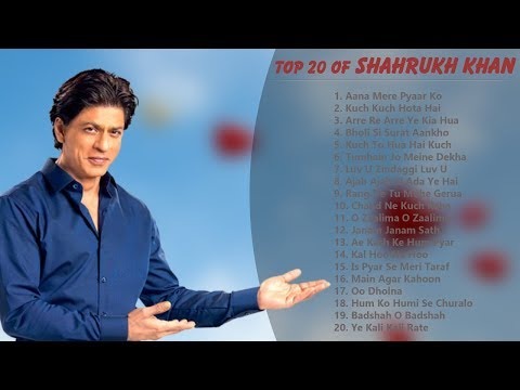 top-20-shahrukh-khan-hits-songs-|-best-hits-collection-|-romantic-songs-|-bollywood-songs