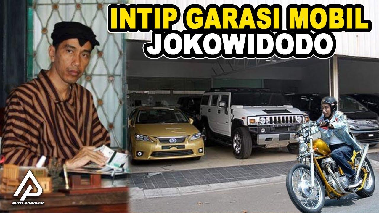 Jadi Presiden RI Bergaya Blusukan, Seberapa Banyak Koleksi Kendaraan Mewah dan Kekayaan Joko Widodo!