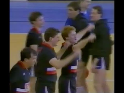 1991 English Volleyball Association National Cup Final - Polonia versus Liverpool