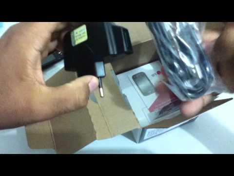 Unboxing - LG Optimus Net Dual Sim - P698