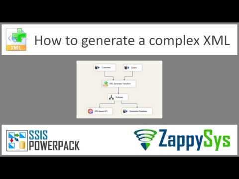 SSIS XML Tutorial Part 1 - Introduction (Export / Create XML / POST to SOAP  API URL)