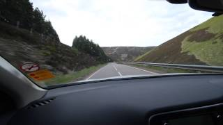 Mitsubishi Outlander PHEV plug in hybrid test drive in Scotland part 3