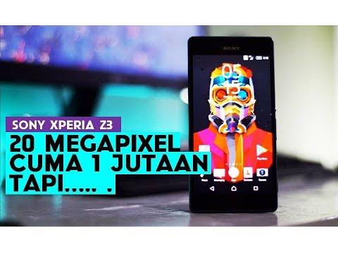 Review Sony Xperia Z3 Indonesia | 20 Mega Piksel 1 Jutaan, Tapi...