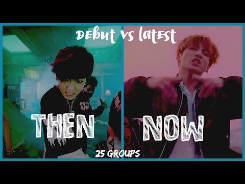 Debut Song Vs Latest Song | 25 Boy Groups