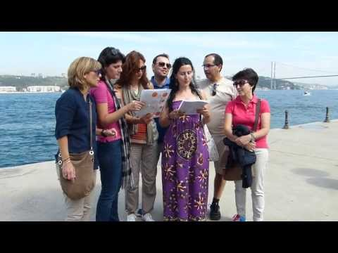 A Joint Venture between a turkish girl, five greeks and one portuguese