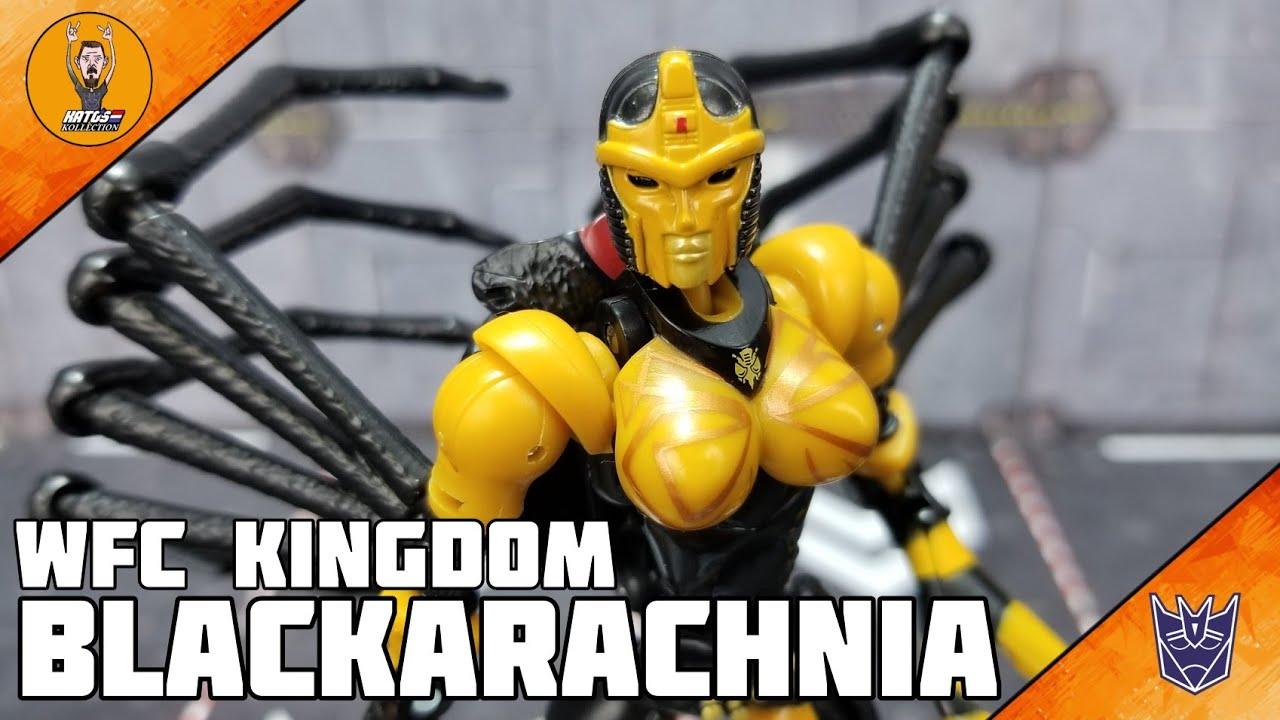War For Cybertron Kingdom Blackarachnia Review By Kato's Kollection
