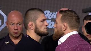 #UFC229 Press Conference Part 2 - Conor McGregor, Khabib