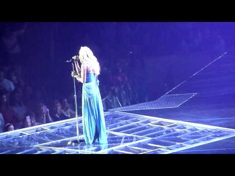Carrie Underwood - Just As I Am / Jesus Take The Wheel - Providence, RI 9/17/12