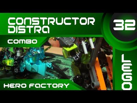 Constructor Distra - Обзор LEGO Hero Factory Combo Models Summer Set 2014