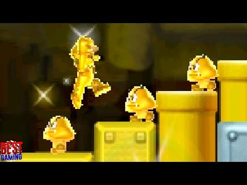 New Super Mario Bros. 2 Walkthrough - World 2 100% Guide (Every Star Coin and Secret Exit)