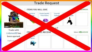 Roblox is REMOVING Trading?! (OMG RIP)