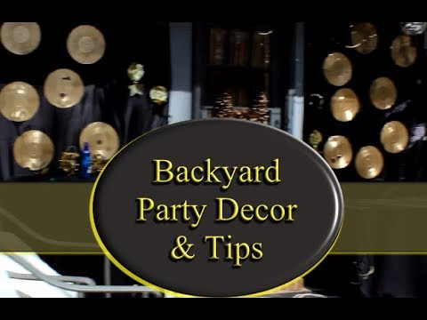 Download OMG!!  HOW TO THROW A QUICK CREATIVE BACKYARD PARTY