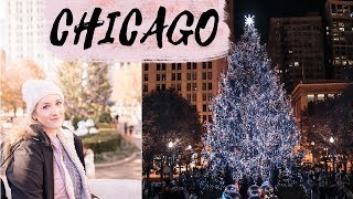 Luminite de Craciun in Chicago
