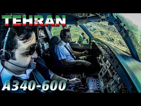 Piloting the A340-600 out of Imam Khomeini Int'l