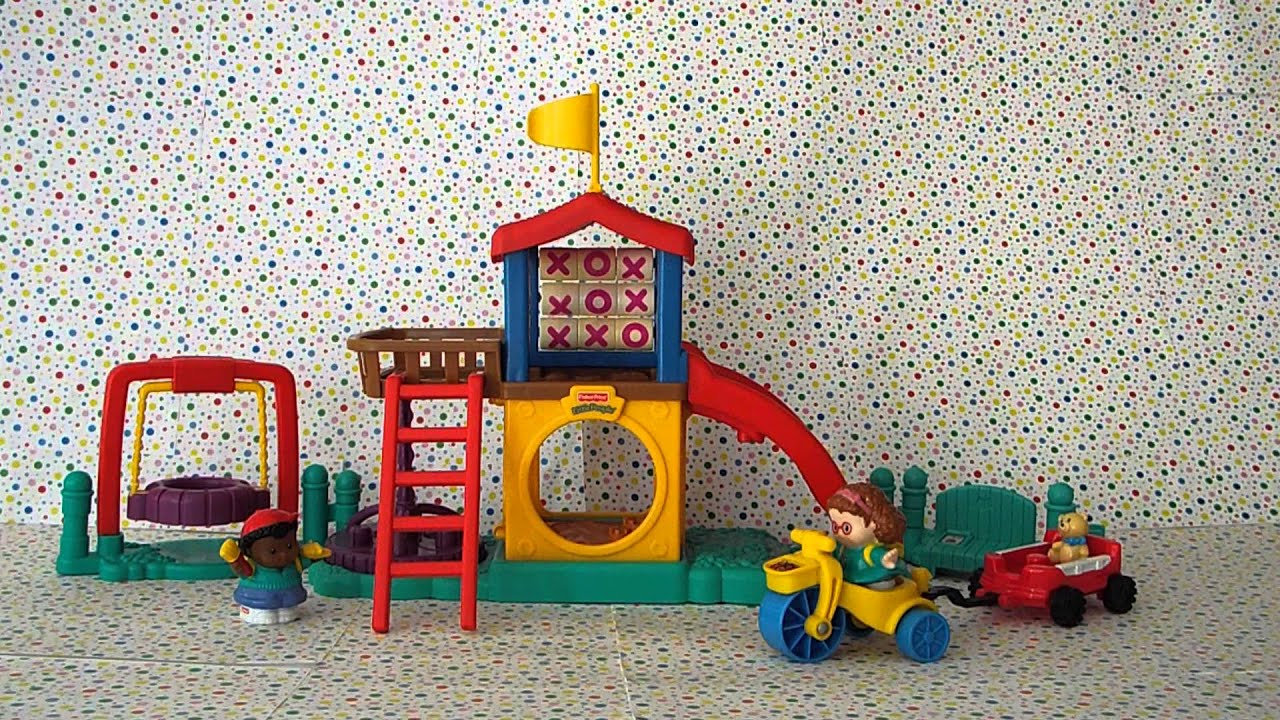 Fisher Price Little People Fun Sounds Playground Youtube