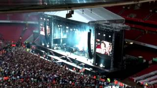 Green Day Missing You Live Debut - Emirates Stadium - June 1st 2013