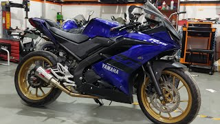 My Yamaha R15 V3 Project Bike: Phase 1 Build (New ECU, Race Camshaft and Much More)
