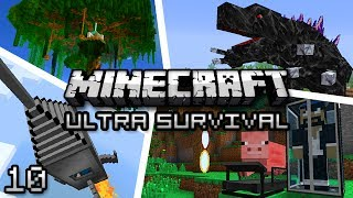 Minecraft: Ultra Modded Survival Ep. 10 - TREE CLIMBER!