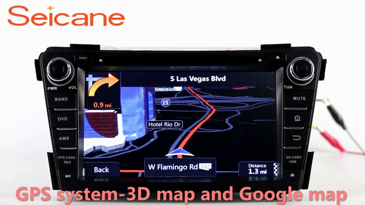 2011 2012 2013 Hyundai I40 Aftermarket Stereo Usb Audio System With Wiring Diagram Radio Dvd Gps Mirror Link