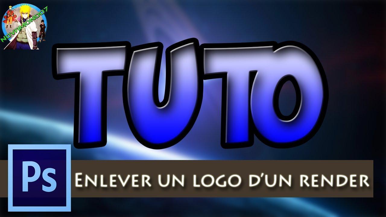 tuto�� photoshop enlever un logo dun renderpng youtube