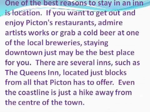 Your Accommodation Options in Picton Ontario