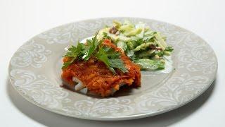 Треска под сельдереевым маринадом с легким салатом | Небанальная кухня