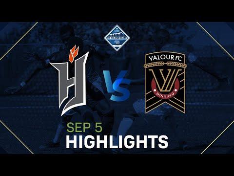 FORGE FC VS VALOUR FC HIGHLIGHTS - SEPTEMBER 5, 2020