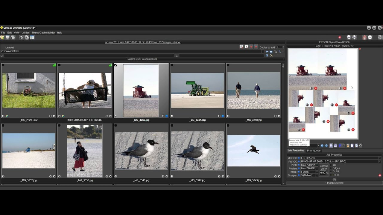 Qimage Ultimate - Working with Print Properties and ...