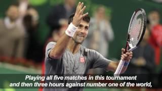 Djokovic ends Murray's 28-win streak in Qatar triumph