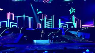 """Nyusha / Нюша - Ночь (@Live, отрывок с выступления на премии """"ЖАРА"""")"""