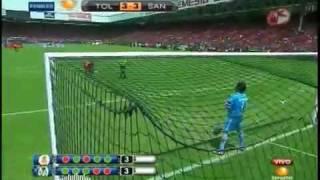 TOLUCA VS SANTOS PENALES TORNEO BICENTENARIO 2010