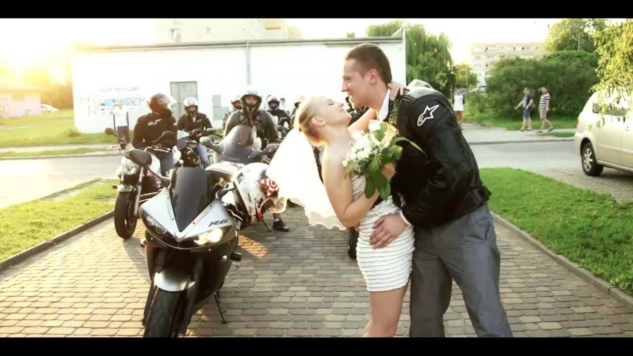 Zaproszenie Motocyklistów Na ślub Dominika I łukasz 30062012